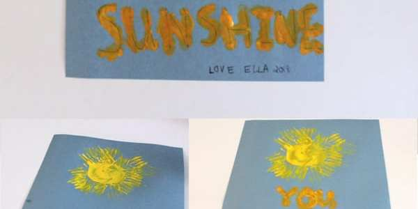 Easy Mother S Day Craft You Are My Sunshine A Crafty Life
