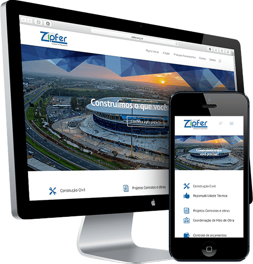 Site Zipfer – acredite.co comunicação digital