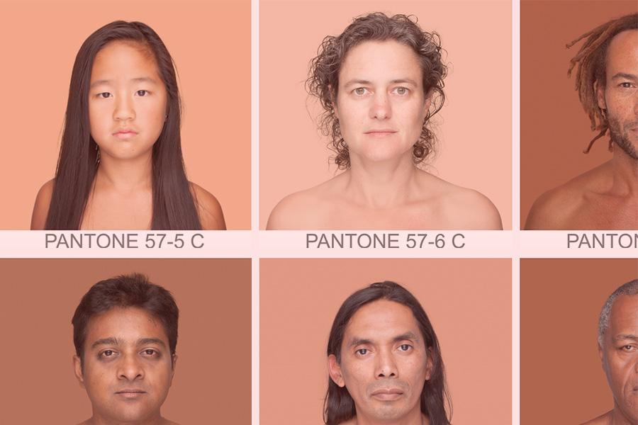 As cores de pele humana e sua beleza: Projeto Humanæ