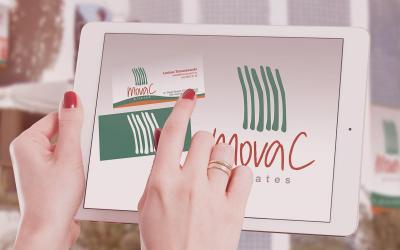 No portifólio: MovaC Pilates, marca e identidade