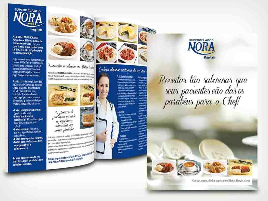 Nora Alimentos Folder Dietas Hospitalares - AcrediteCo