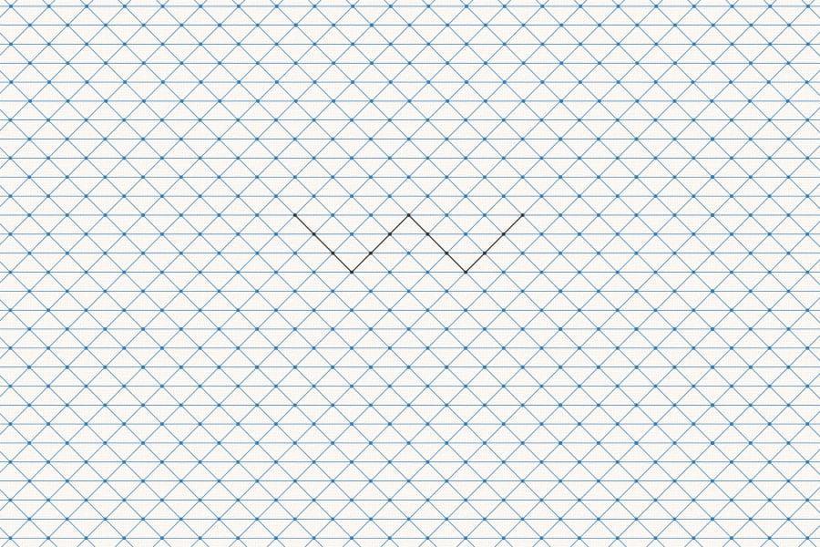 W Architect - Padrão de textura com símbolo