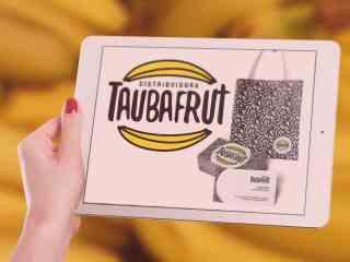 Taubafrut Bananas Climatizadas, Marca e Identidade Visual