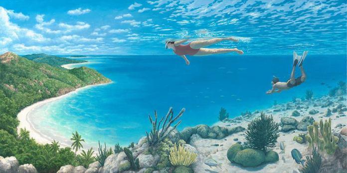 oceano ou céu