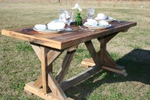 Reclaimed Wood Breakfast Table