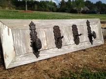 Reclaimed Siding Wall Hooks