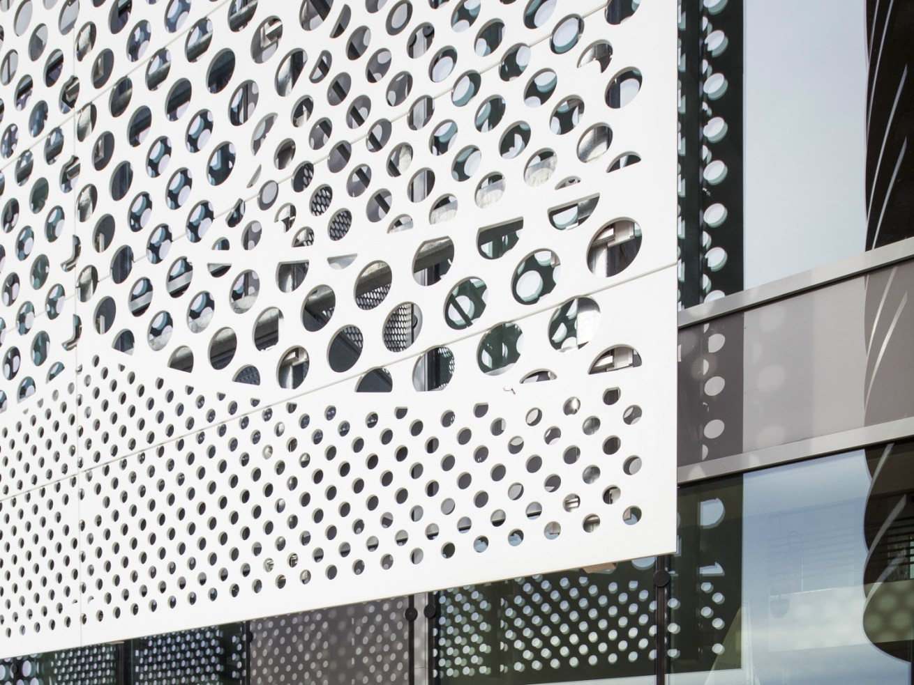 Architecture - Solid Surface Facade