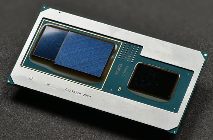 Radeon RX VEGA M GX GL plus Intel core