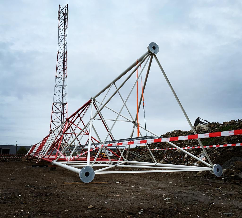 Installation pylône