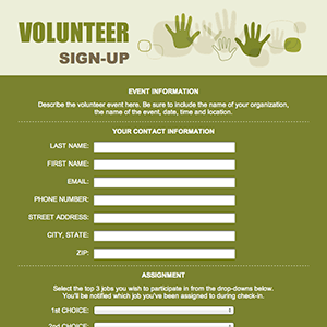 Volunteer Templates. community service hours form with this letter ...