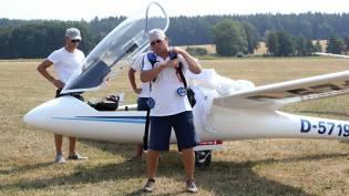 Deutsches Team bei der Startvorbereitung - Copyright: Ruda Jung