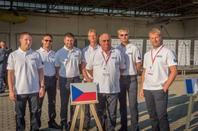 das tschechische Team - Copyright: Ruda Jung