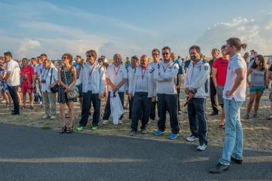 Siegerehrung, das italienische Team - Copyright: Ruda Jung