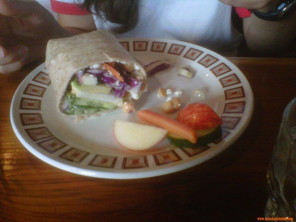 Veggie Wrap at Sangha Bean