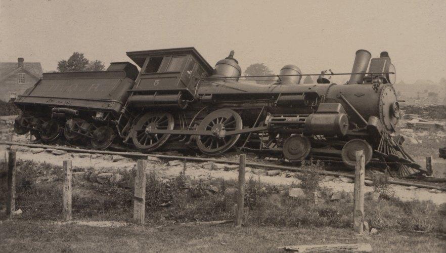 Train Wreck Ontario