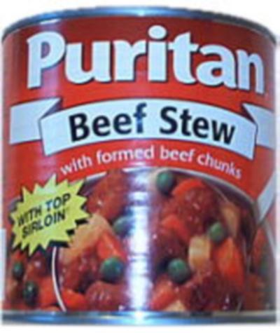 puritan beef stew