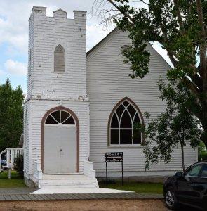 United Church in Rowley Alberta