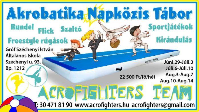 Akrobatika Napközis Tábor 2020