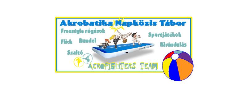 Akrobatika nyári tábor 2020