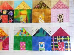 Acropatch-Scrappy_quilt-Motif-Quilting-Légo-fil-multicolore-après-quiltage