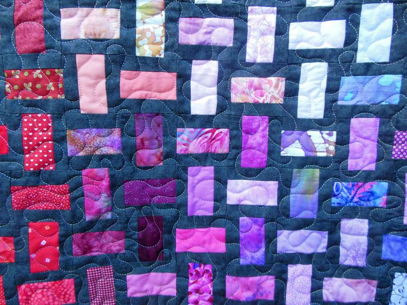 Acropatch-Motif-Quilting-PUZZLE-panneau-mural-fil-multicolore-pastel