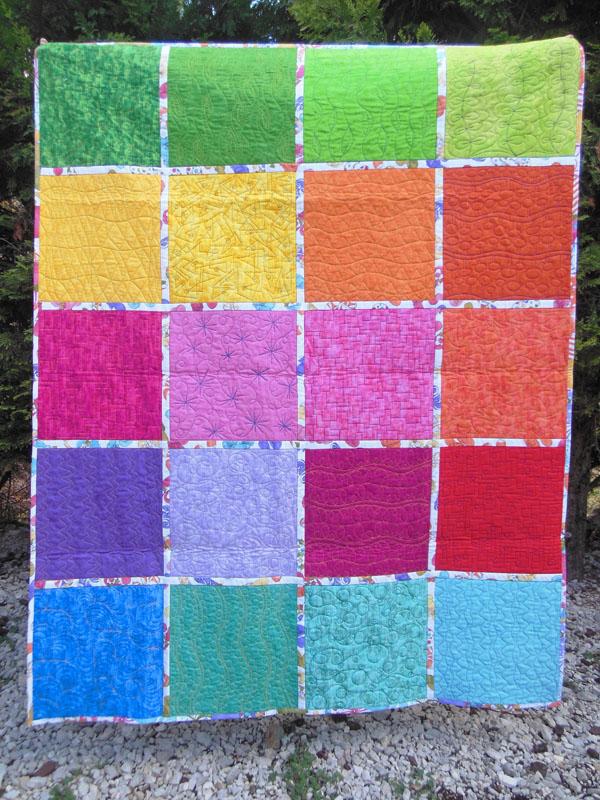 Acropatch-motif-quilting-FEUILLE DE CHENE-panneau-mural-sampler-motif-quiltage