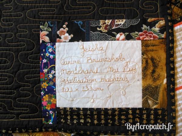 Acropatch-Couvre-lit-Geisha-tissus-japonais-203x233cm-étiquette