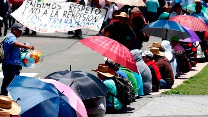 Suspende sesión Cámara de Diputados por bloqueo del CNTE