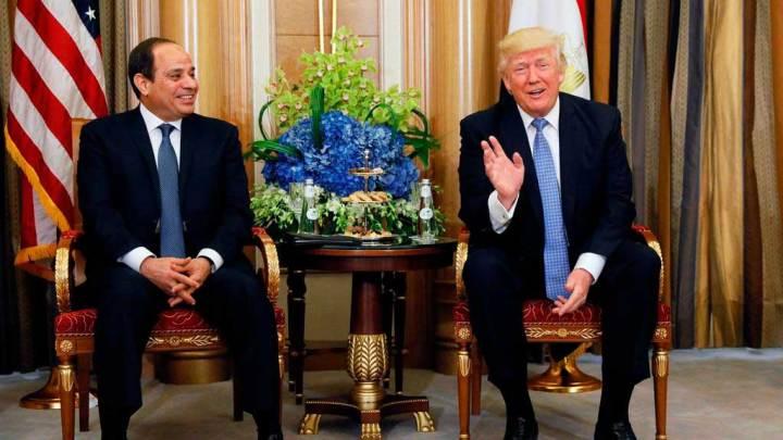 Impulsa Trump campaña de Al Sisi
