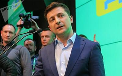 Vladímir Zelenski fue declarado presidente electo de Ucrania