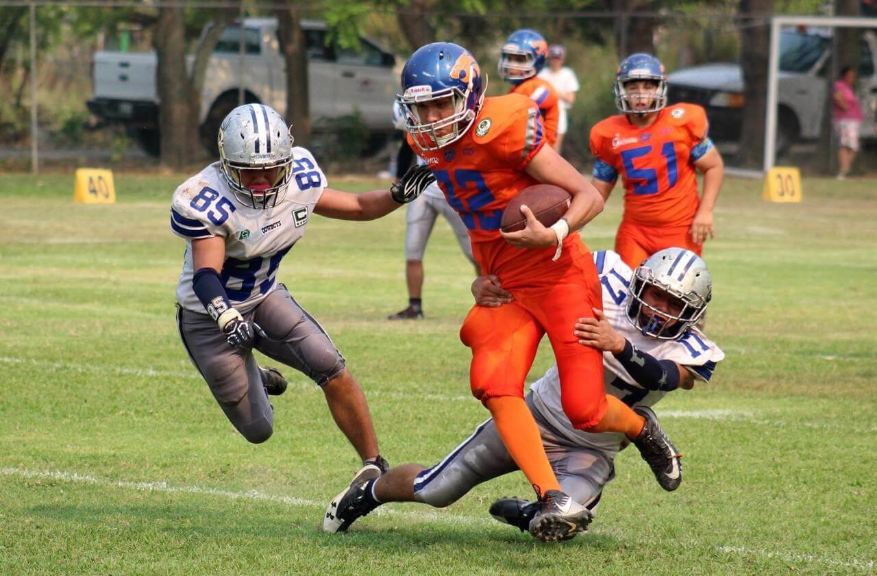 En juego de la semana 6 en ONEFA Juvenil, los Linces Veracruz derrotaron por score de 34-12 a los Cowboys, en partido celebrado en el campo del Colegio Green Oaks, este fin de semana.
