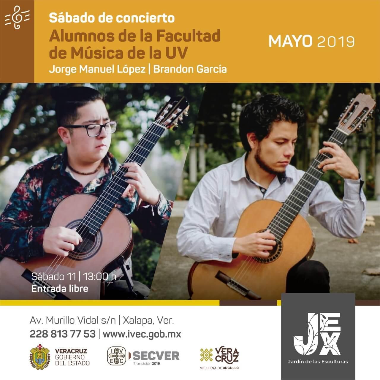 El Instituto Veracruzano de la Cultura (IVEC) iniciará el ciclo 'Sábado de Concierto', con la presentación de exponentes de diferentes géneros musicales.