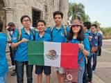 El equipo mexicano conformado por Daniel Ochoa Quintero de Tamaulipas, Karla Rebeca Munguía Romero de Sinaloa, Jacobo de Yucatán y Luis Eduardo Martínez de Ciudad de México, alcanzó el primer lugar, con dos medallas de oro y dos de plata y se coronó campeón en la Olimpiada Matemática de Centroamérica y el Caribe (OMCC) realizada en República Dominicana del 16 al 22 de junio.