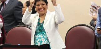 La secretaria de Medio Ambiente, María del Rocío Pérez Pérez nombró a Narciso Escudero Luis como el nuevo encargado de la Dirección Jurídica de la Secretaría de Medio Ambiente.