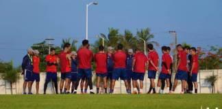 Los Tiburones Rojos de Veracruz entrenaron la mañana de este jueves en el Centro de Alto Rendimiento como parte de las actividades iniciales de la Pretemporada Tiburón rumbo al torneo Apertura 2019 de la Liga MX.