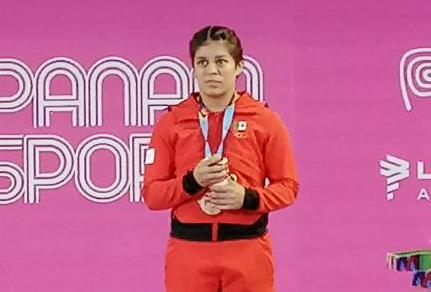 La pesista veracruzana Ana Gabriela López Ferrer dedicó su medalla de bronce a todo Veracruz, luego de subirse al podio en la división de menos de 55 kilogramos en los Juegos Panamericanos de Lima, Perú 2019.