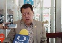 El vicepresidente nacional de la Cámara Nacional de la Industria de la Transformación (Canacintra), Juan Manuel García González pidió emitir la convocatoria para nombrar al auditor general del Órgano de Fiscalización Superior (Orfis).