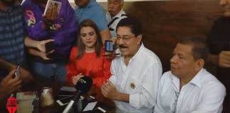 """El aspirante al a dirigencia nacional del Partido Revolucionario Institucional (PRI), Ulises Ruiz Ortiz consideró que Veracruz """"está hundido"""" en la delincuencia."""