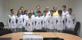La delegación veracruzana de taekwondo que participó en los Juegos Deportivos Nacionales Escolares 2019 efectuados en el Puerto de Acapulco, visitaron las instalaciones del Instituto Veracruzano del Deporte.