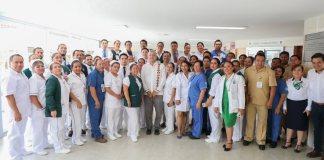 Este domingo, el presidente, Andrés Manuel López Obrador realizó una supervisión de los hospitales rurales de Zongolica y Coscomatepec, acompañado del gobernador , Cuitláhuac García Jiménez.