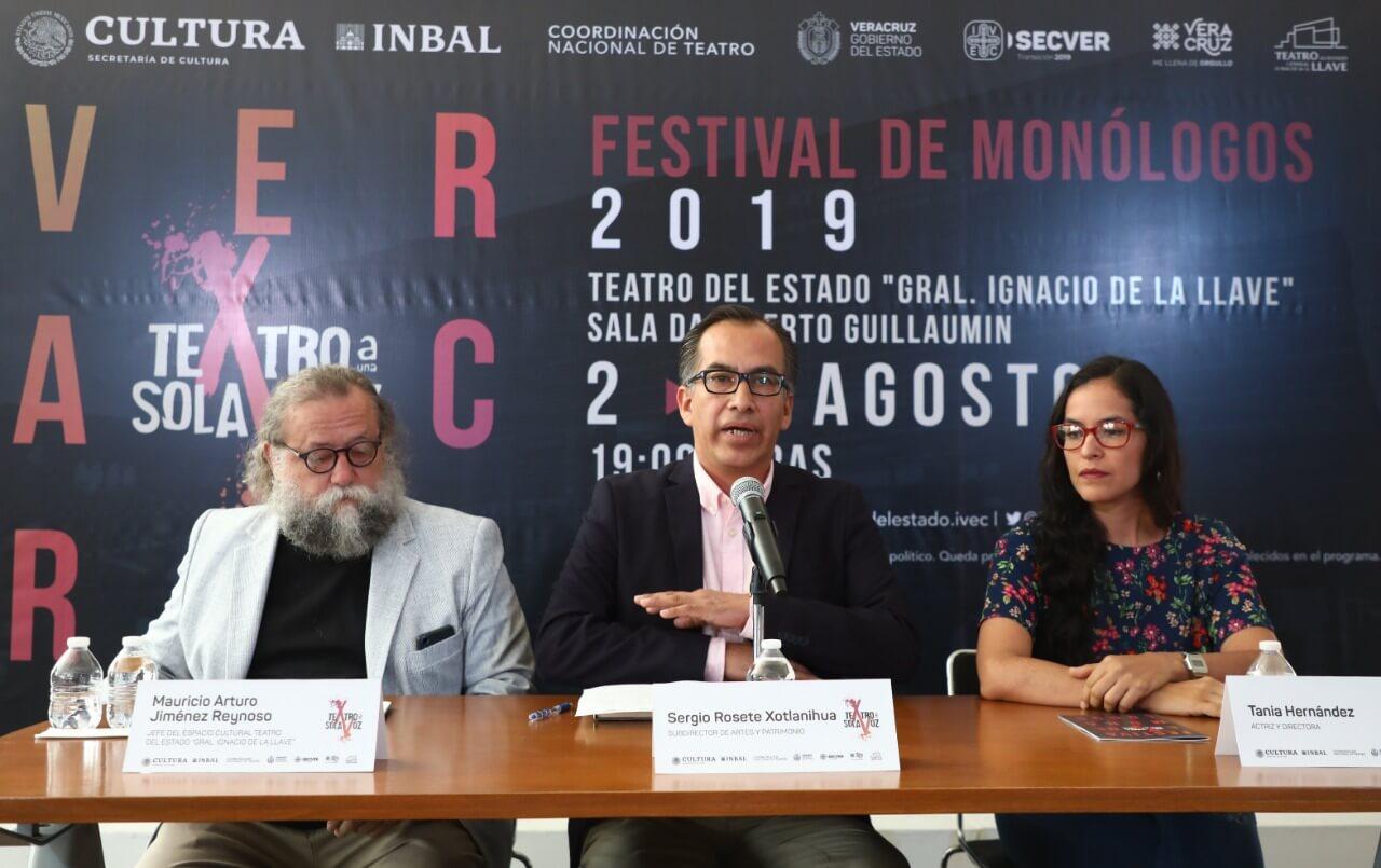 Por segunda ocasión, el Instituto Veracruzano de la Cultura (IVEC), cobijado por el Instituto Nacional de Bellas Artes y Literatura (INBAL), a través de la Coordinación Nacional de Teatro, presenta