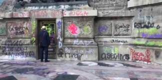 Gobierno federal, capitalino y de la alcaldía de Cuauhtémoc realizaron la valoración de las afectaciones en el Ángel dela Independencia y la Glorieta de Insurgentes después de las manifestaciones del viernes.
