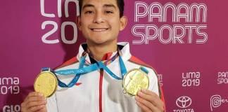 Con una espectacular actuación, el clavadista veracruzano Kevin Berlín Reyes consiguió la medalla de oro en la plataforma individual en los Juegos Panamericanos de Lima 2019 y de paso obtuvo plaza olímpica para Tokio 2020.