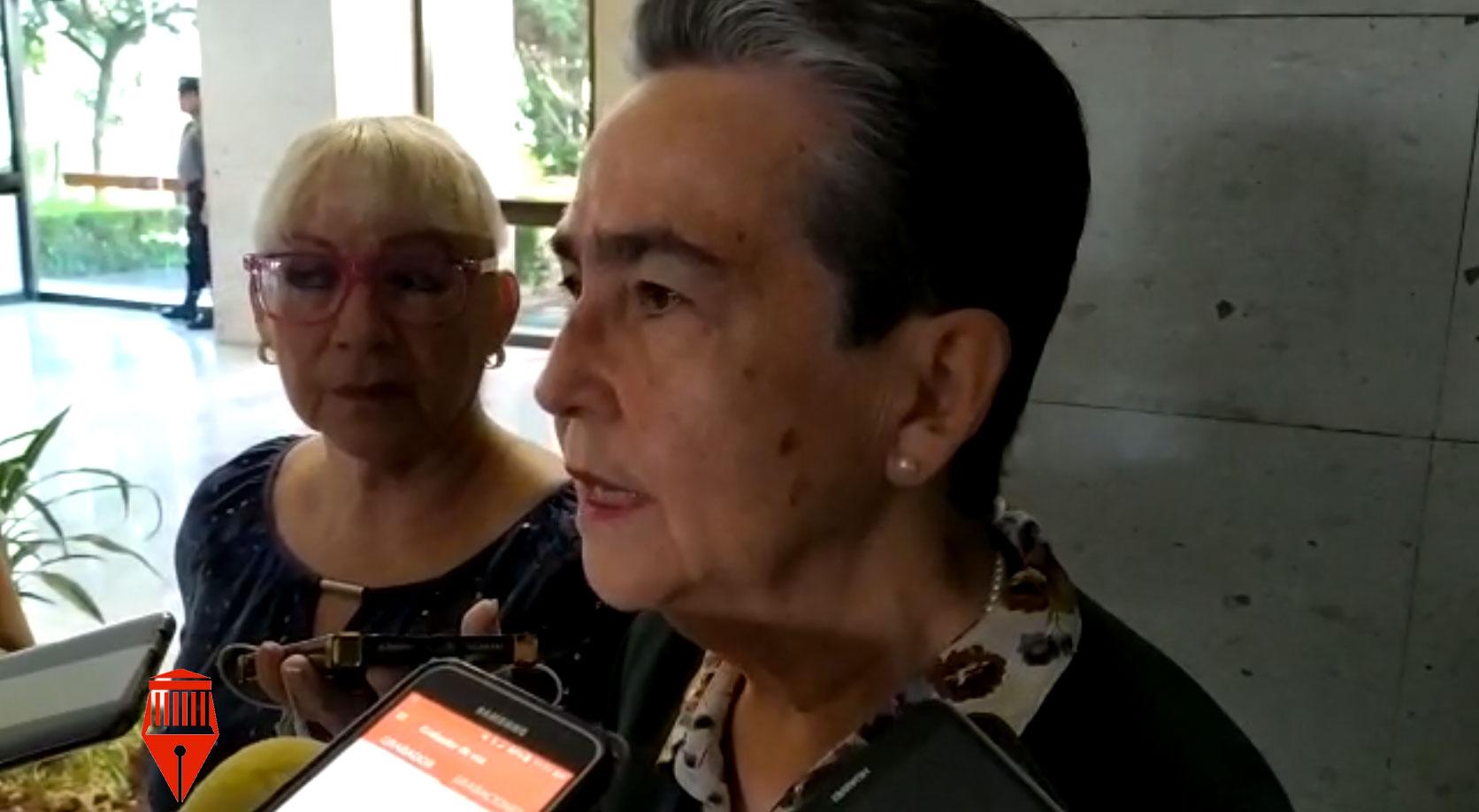 La senadora, Gloria Sánchez Hernández apoyó la postura de la secretaria de gobernación, Olga Sánchez Cordero, sobre el establecer un diálogo con las autodefensas, siempre y cuando sea con los representantes y no con los que tienen otros intereses.