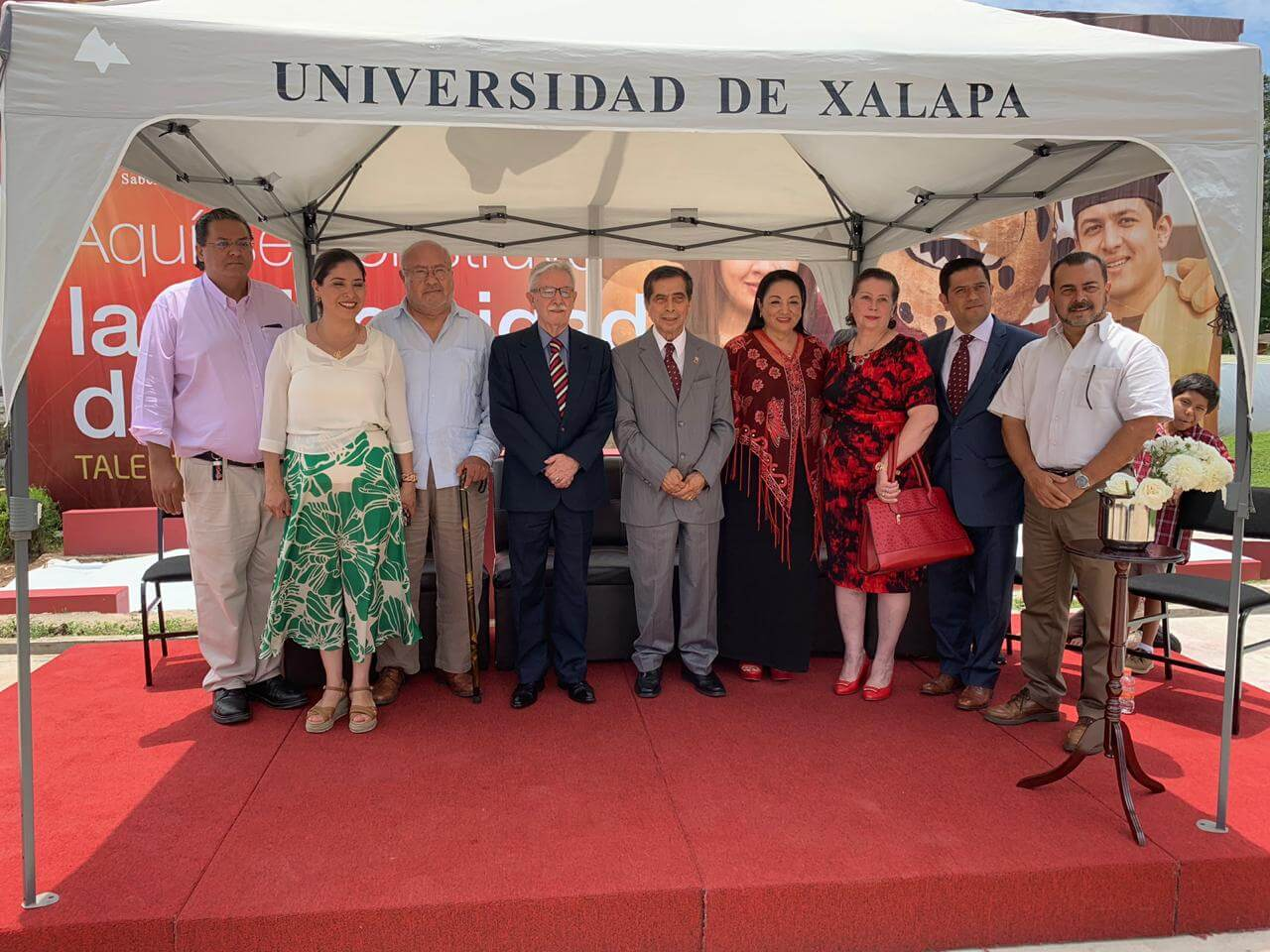 Este miércoles, la Universidad de Xalapa inauguró la ampliación de las instalaciones del Campus Universitario Ánimas.