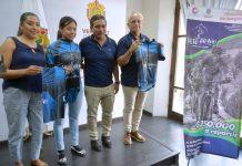 """La Secretaría de Turismo y Cultura (SECTUR) y el Ayuntamiento de Coscomatepec llevaron a cabo la presentación del """"Reto Bravo"""", evento de ciclismo que se realizará el 21 y 22 de septiembre en ese municipio, donde se espera la participación de 600 deportistas y una afluencia de 10 mil personas."""