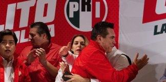 El candidato a la Presidencia Nacional del CEN del Partido Revolucionario Institucional (PRI), Alejandro Moreno Cárdena afirmó que los resultados en las más de 6 mil casillas que se instalaron en toda la República, le otorgan una ventaja irreversible, con lo que alcanzó el triunfo contundente de la elección.