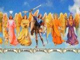 """Originalmente era la festividad del Arcángel Miguel, debido a que ese día del siglo V le dedicaron una basílica en su honor en la vía Salaria (Italia). Años más tarde, con la reforma litúrgica del año 1969, se unificaron las festividades de los demás Arcángeles, quedando el 29 de septiembre como el """"Día Internacional de los Arcángeles""""."""