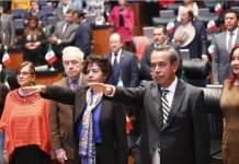 Bernardo Córdova Tello y Mabel del Pilar Gómez Oliver, tomaron protesta para desempeñarse como embajadores plenipotenciarios de México en Tailandia y en el Reino de Marruecos, respectivamente.
