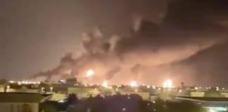 Un ataque a Arabia Saudita que cerró el 5 por ciento de la producción mundial de crudo causó el mayor aumento de los precios del petróleo desde 1991.